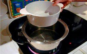 Водный экстракт прополиса в домашних условиях: пошаговая инструкция - водяная баня