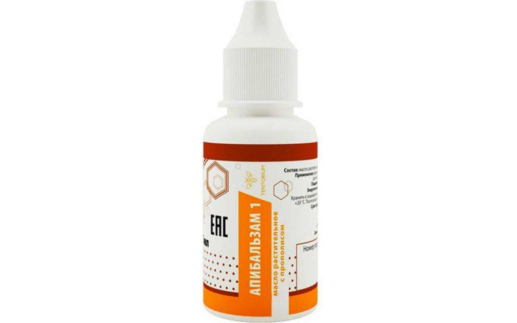 Лечение герпеса прополисом - Апибальзам 1 Тенториум